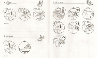 Tefal Iron instructions